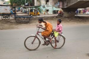 Vie quotidienne dans le quartier de Vyasarpadi